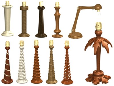 Lamptableg lamp wood turned table lamp aloadofball